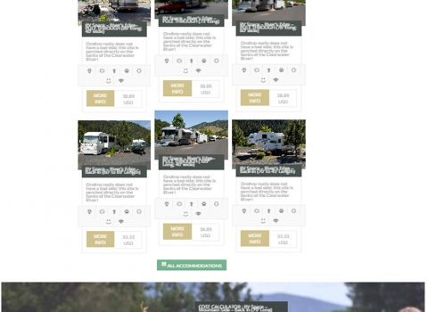 Clearwater Crossing RV Park Website